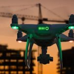 A new algorithm to train autonomous drones fastly around obstacles